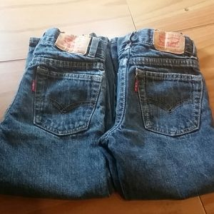 Boys Levis Strauss jeans size 4t 3-4 years